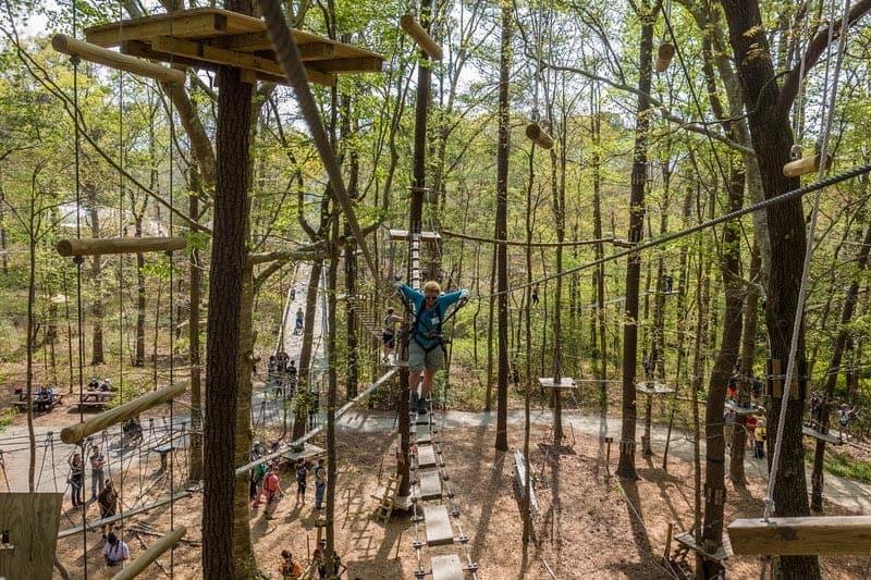 what to do in Virginia Beach adventure park