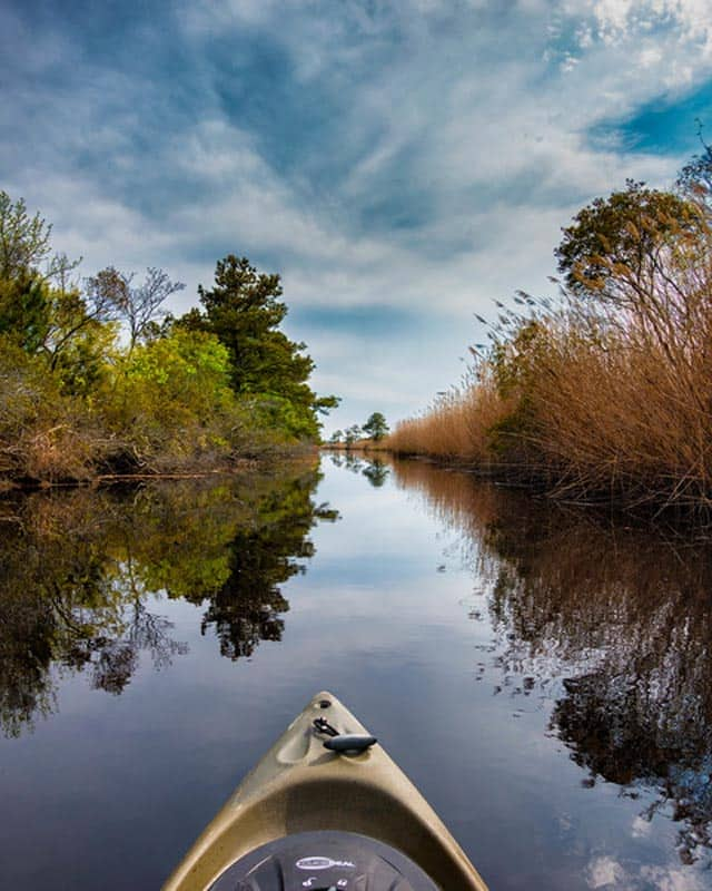 what to do in Virginia Beach kayaking