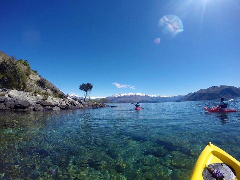 kayaking lake wanaka