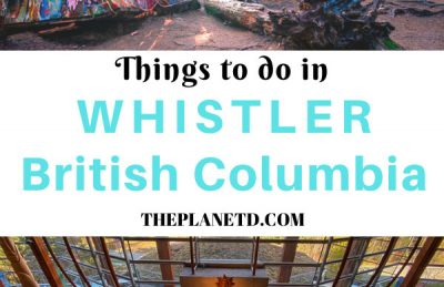 things to do in Whistler British Columbia