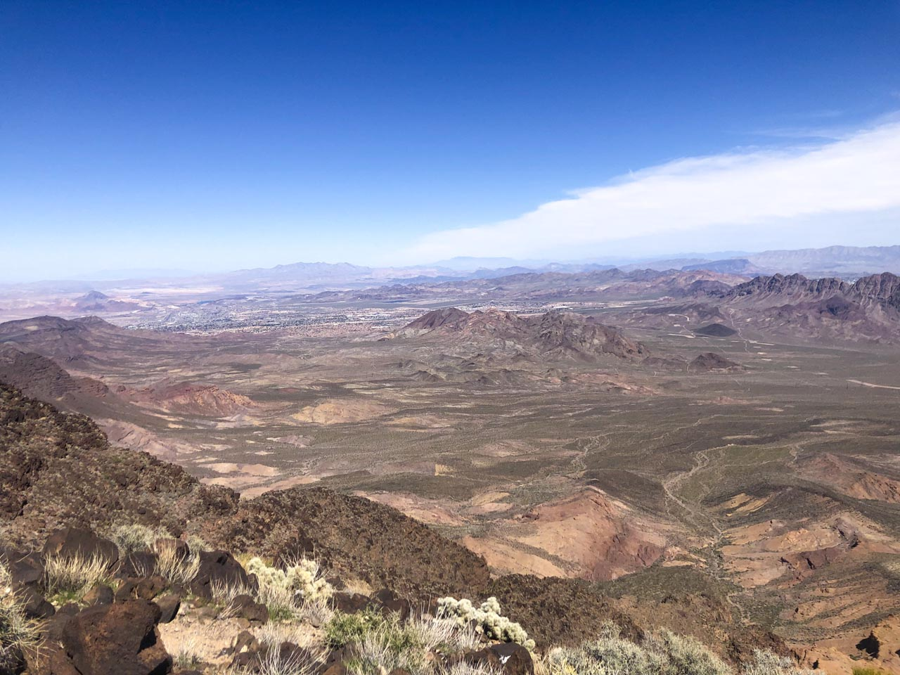 places to visit near las vegas | sloan canyon national conservation area