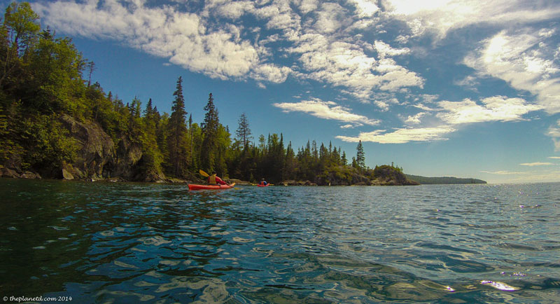 things to see on slate islands kayak