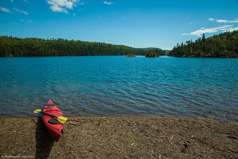 kayaking on beach
