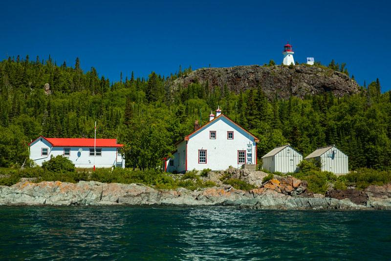 slate islands lighthouse