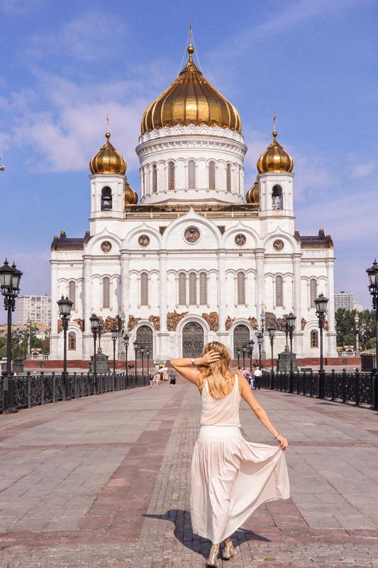 things to see in moscow | christ the savoir cathedral