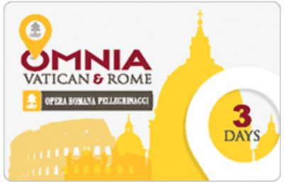 3 days in rome omnia Rome Card
