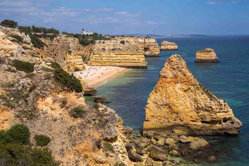 three days in the Algarve Portugal
