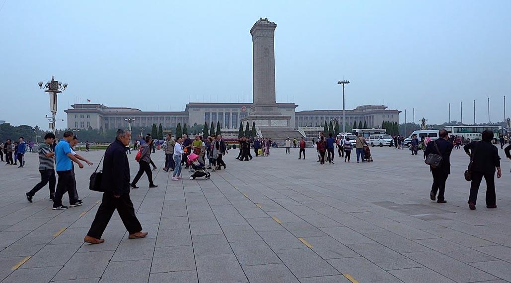 tiananmen square beijing heroes monument