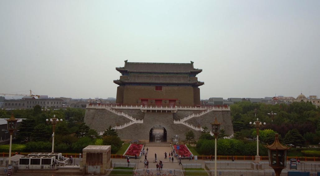 tiananmen tower