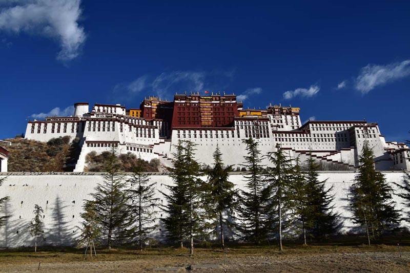 Potala Palace Summer Home of the Dalai Lamas 1649 to 1959