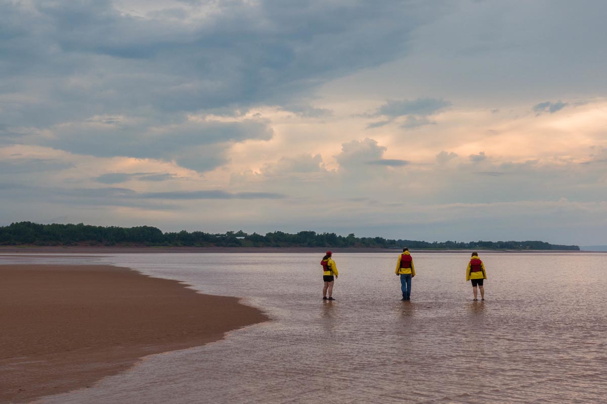 rafting tidal bore nova scotia