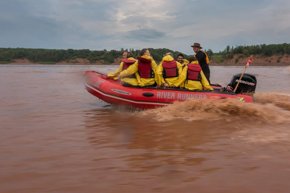 Tidal Bore Rafting the World Highest Tides