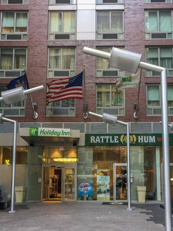 times square hotels holiday inn christmas