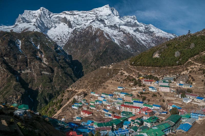 trekking to everest base camp tips namche bazaar