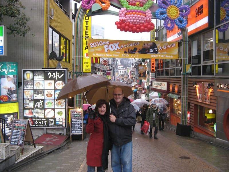 tokyo volunteer guide gordy paula