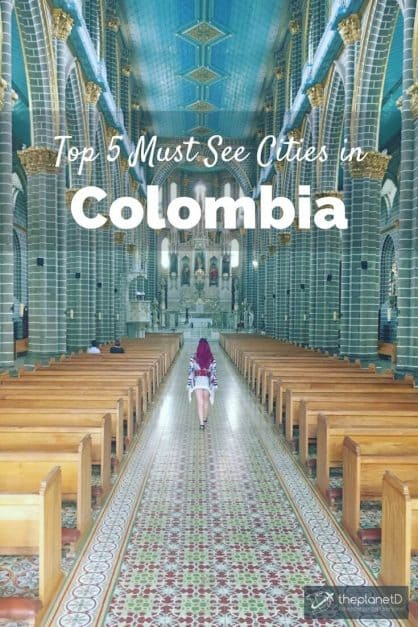 top 5 cities in Colombia