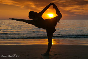Patnem Beach has Some Pretty Awesome Yoga