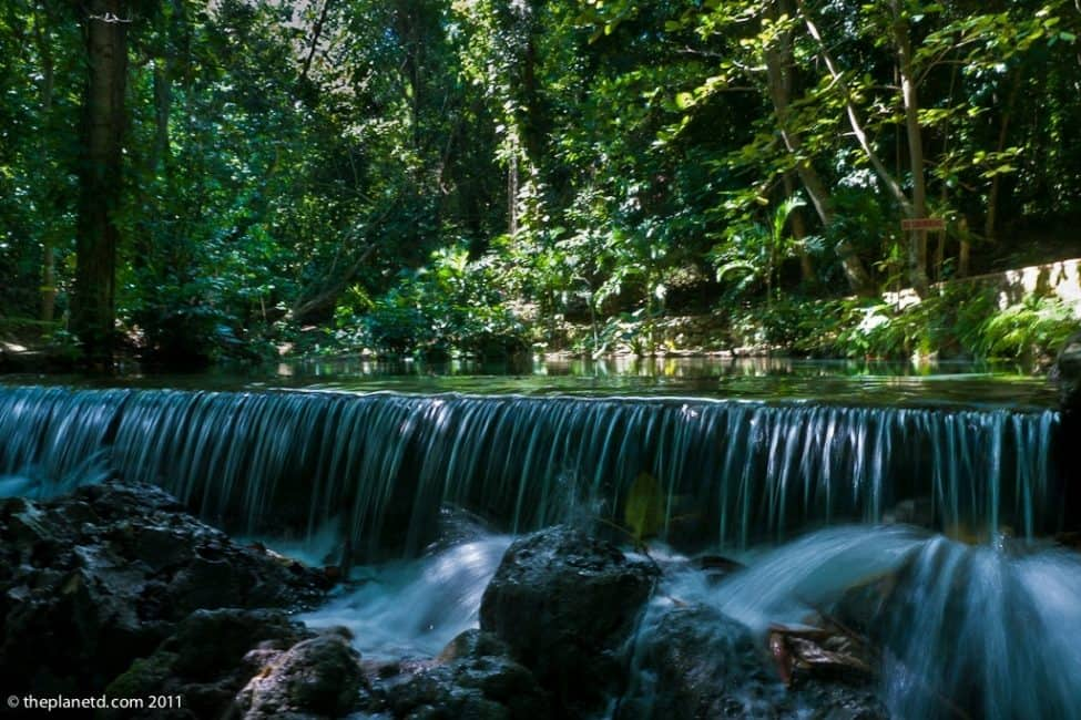 top caribbean adventures waterfall