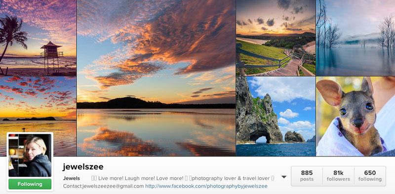 top instagrammers to follow jewels zee
