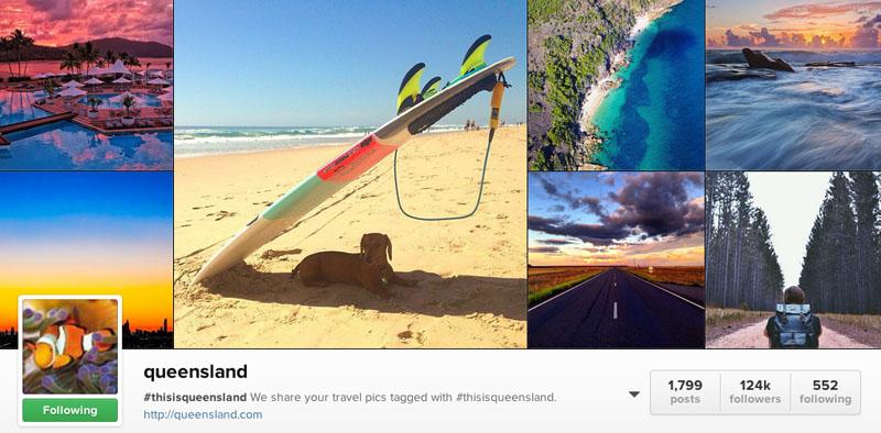 top instagrammers to follow queensland
