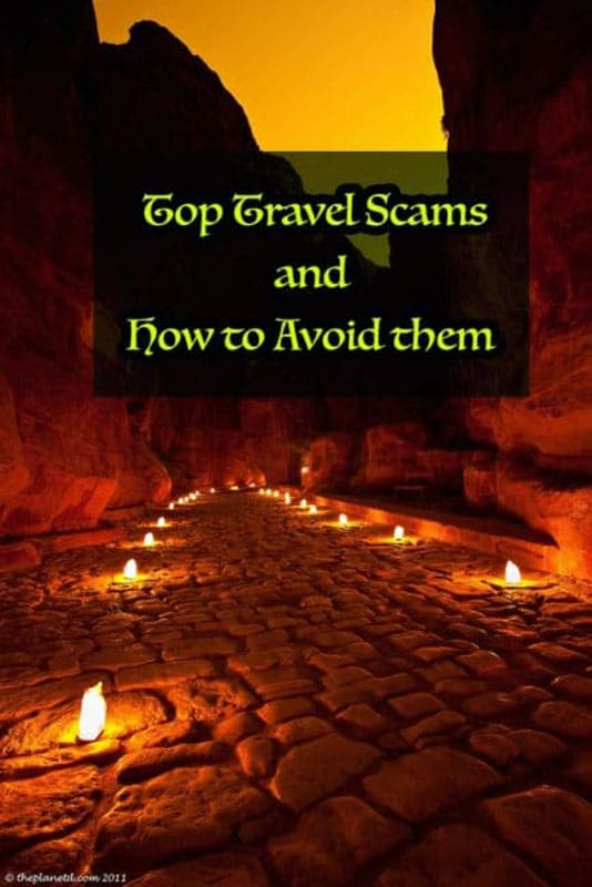 top travel scams