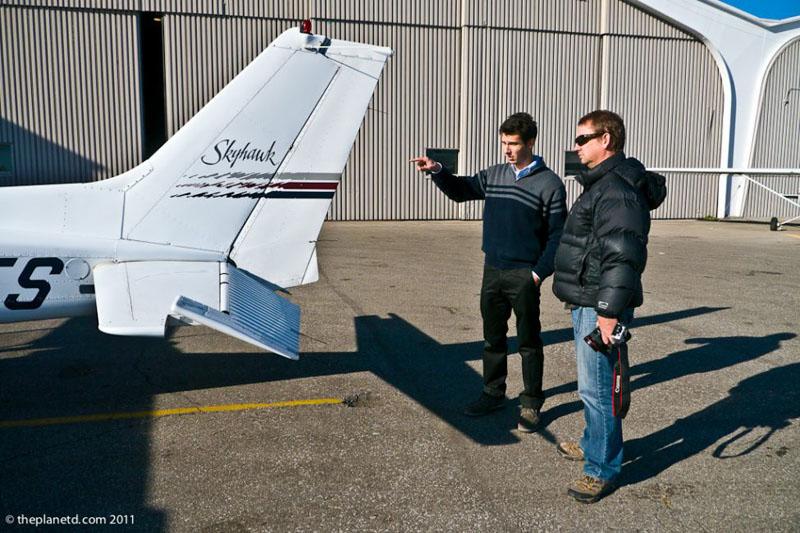 toronto scenic flight pilot