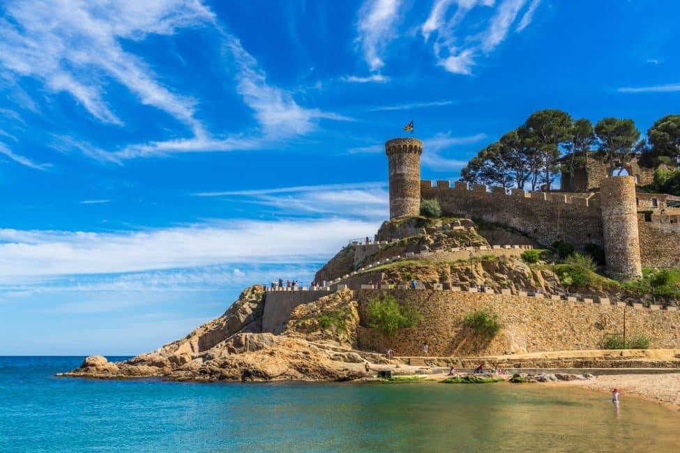 ciudades españolas tossa de mar