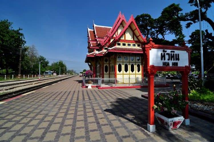 tips to travel thailand by train