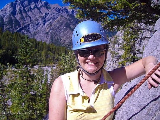 travel a lot deb climbing