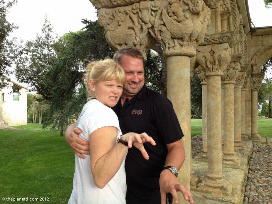 dave and deb in Spain