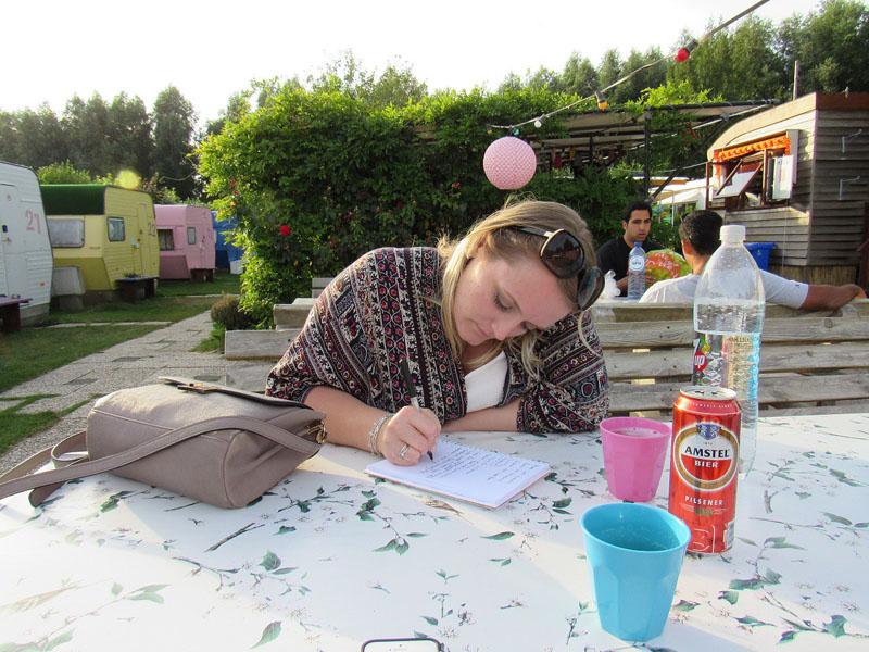 travel blogging writing amsterdam