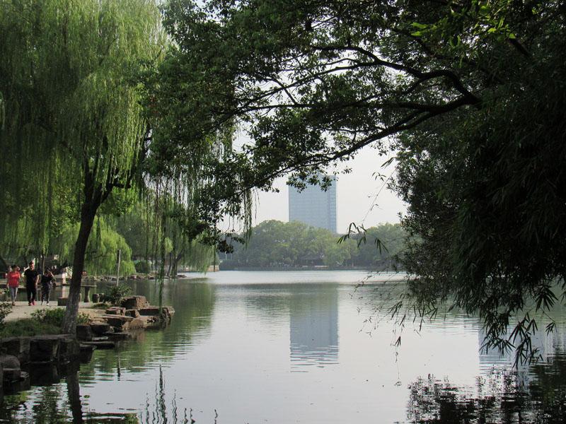 travel blogging lake