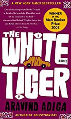 best books for travellers white tiger india