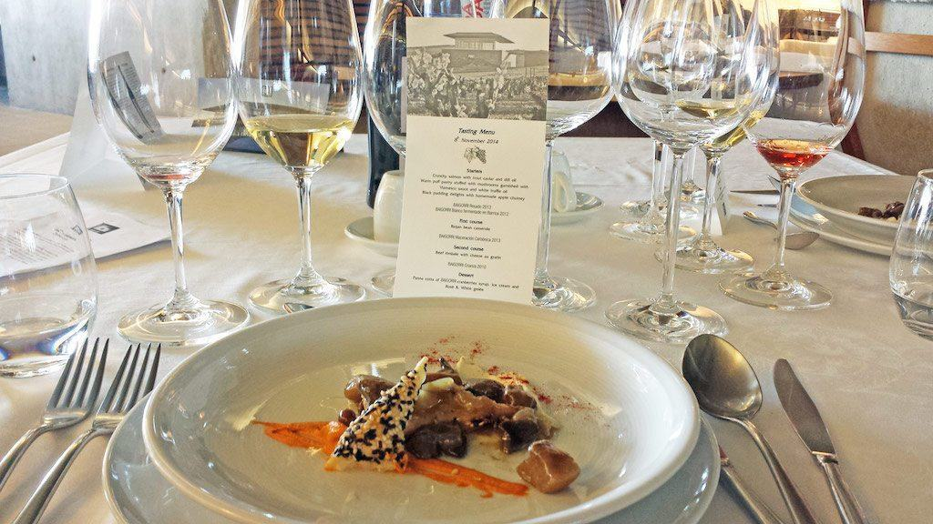 travel for food - Spain Baigorri Wine