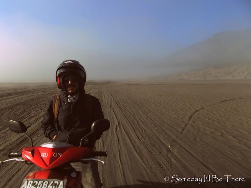 scooter desert