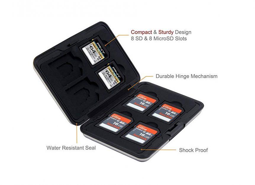 travel stuff | memory card holder