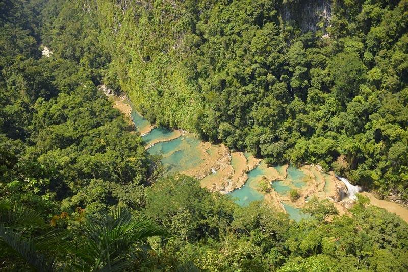 reasons to visit Guatemala | waterfalls and rivers