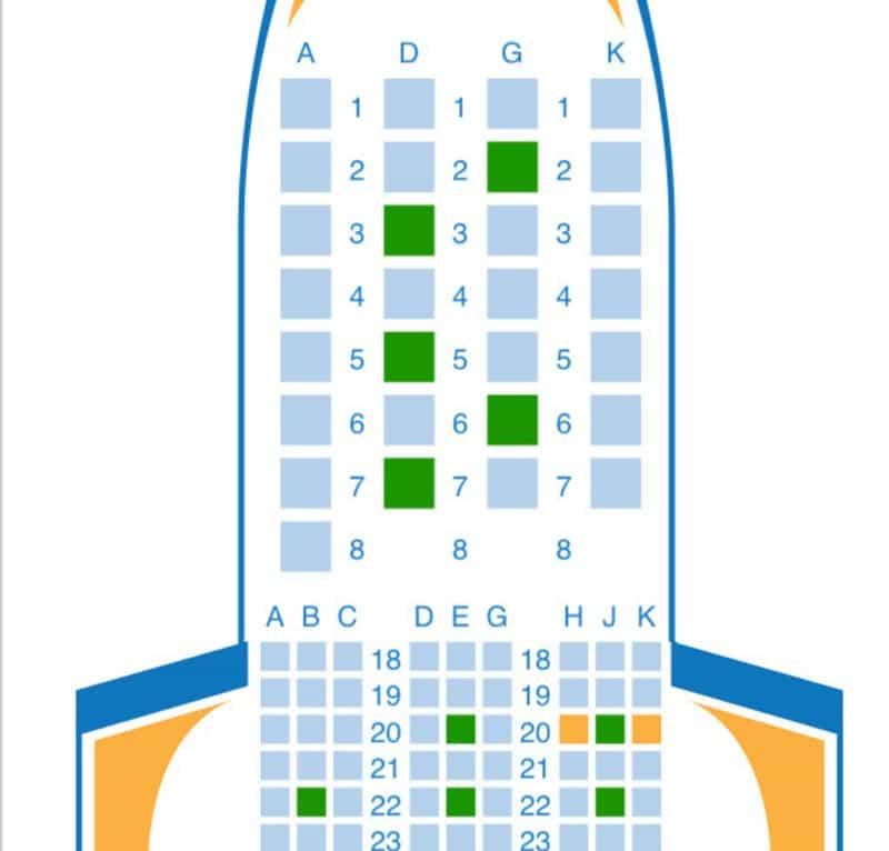travel hacking seat choosing