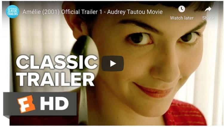 best travel movies on Netflix | amelie