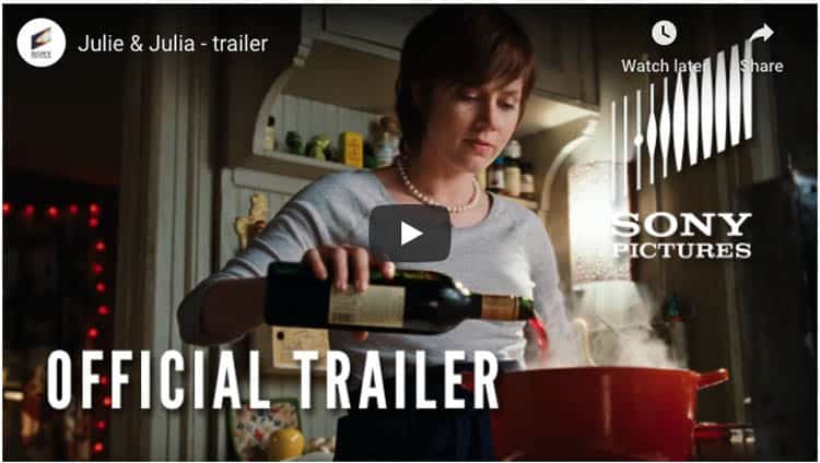one of the best travel films | julie and julia