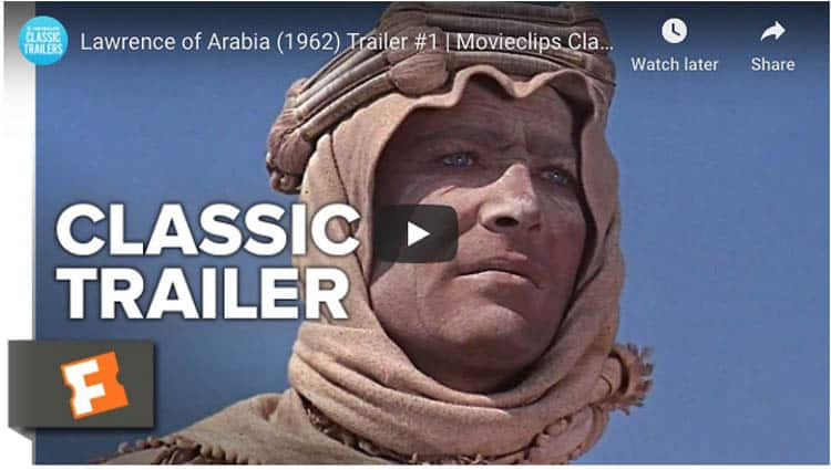 adventure movies lawrence of arabia