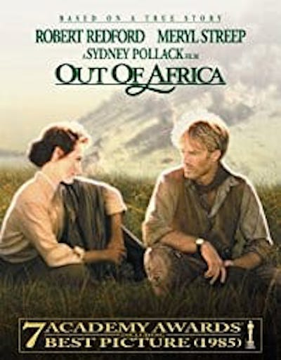 travel movies out of africa
