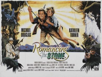 travel movies romancing the stone