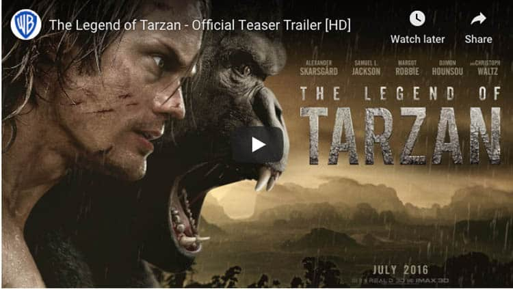 travel movies about africa | legend of tarrzan
