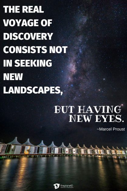 famous quotes about travel by Marcel Proust