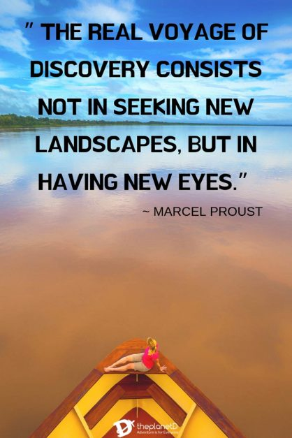 Classic travel quote by marcel proust