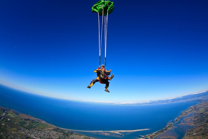 safety of travel skydiving
