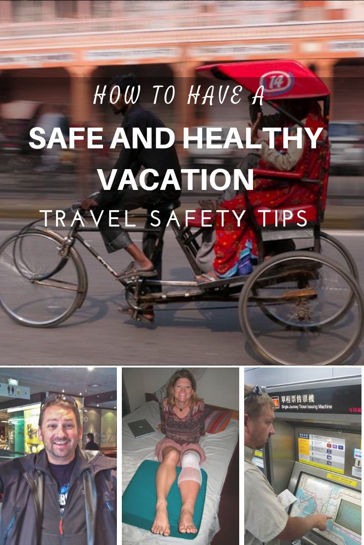 travel safety tips for safe and healthy travels