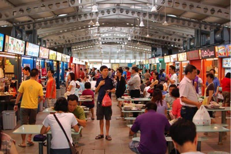 travel singapore hawker centres