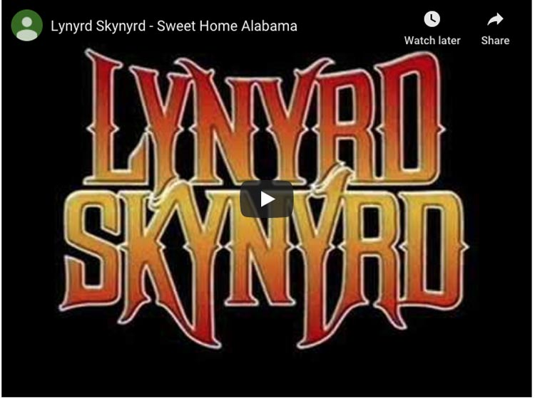best songs about travel | sweet home alabama